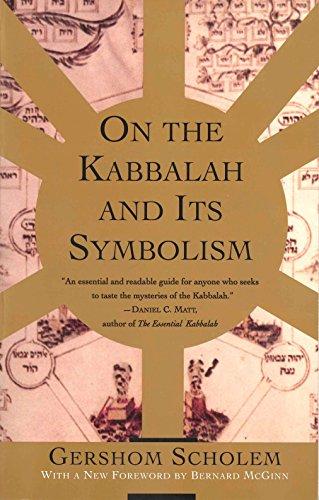 9780805210514: On the Kabbalah and its Symbolism (Mysticism and Kabbalah)