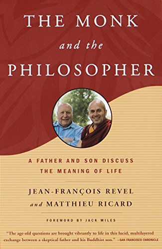 9780805211030: The Monk and the Philosopher: A Father and Son Discuss the Meaning of Life