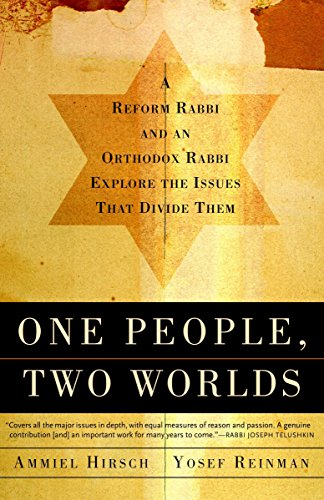 9780805211405: One People, Two Worlds: A Reform Rabbi and an Orthdox Rabbi Explore the Issues That Divide Them