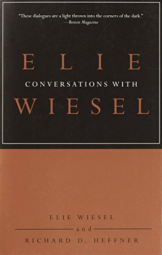 9780805211412: Conversations with Elie Wiesel