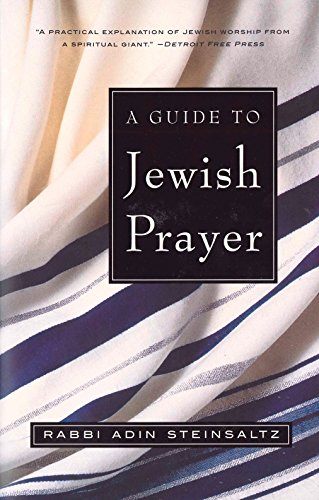 9780805211474: A Guide to Jewish Prayer