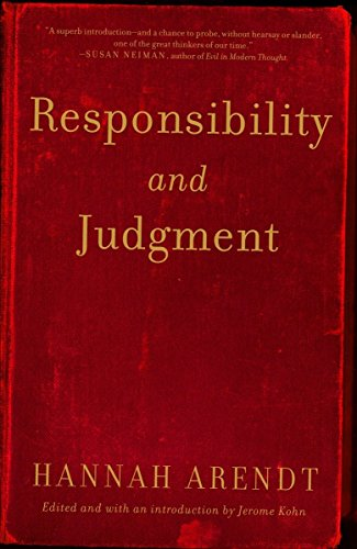 9780805211627: Responsibility and Judgment