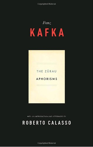 9780805212075: The Zurau Aphorisms