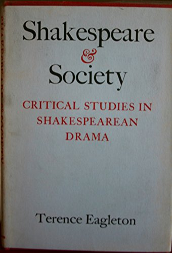 9780805232363: Shakespeare and Society. Critical Studies in Shakespean Drama.