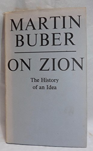 9780805234855: On Zion: The History of an Idea