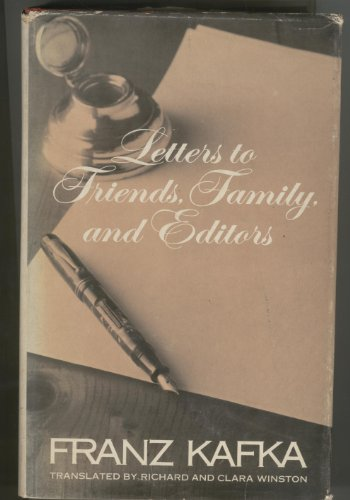 9780805236620: Letters to Friends, Family, and Editors