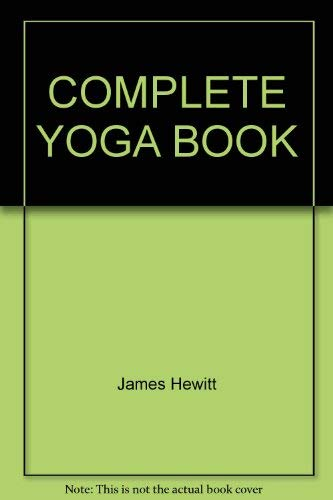 9780805236873: Complete Yoga Book
