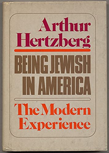 9780805236927: BEING JEWISH IN AMERICA