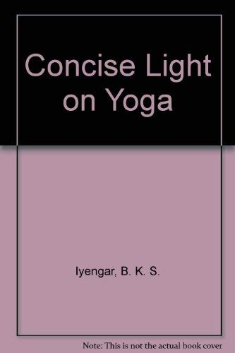 9780805238310: Concise Light on Yoga