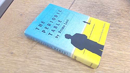 The Periodic Table: Primo Levi