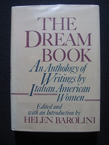 9780805239720: The Dream Book: An Anthology of Writings by Italian-American Women