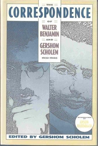 9780805240658: The Correspondence of Walter Benjamin and Gershom Scholem, 1932-1940