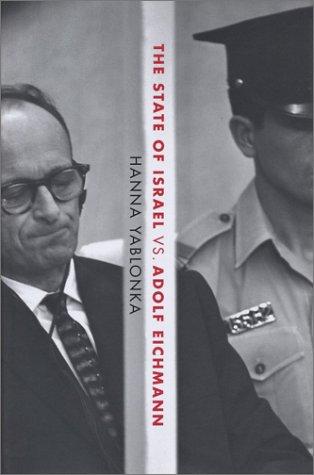 9780805241877: The State of Israel Vs. Adolf Eichmann