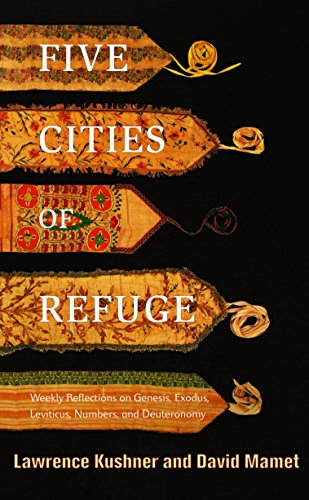 9780805242201: Five Cities of Refuge: Weekly Reflections on Genesis, Exodus, Leviticus, Numbers, and Deuteronomy