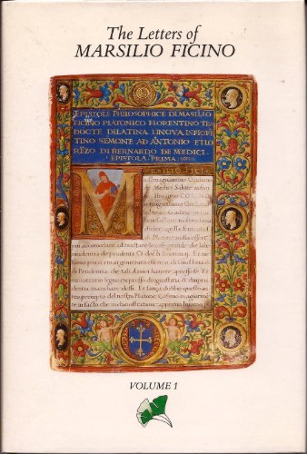 The Letters of Marsilio Ficino: n/a