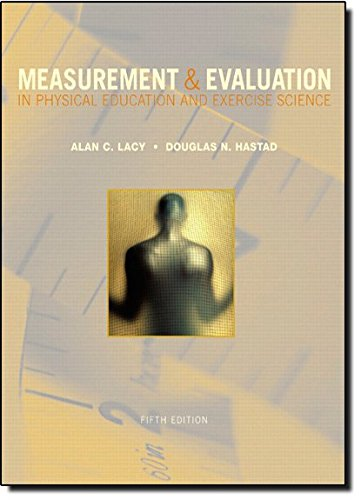 9780805300697: Measurement and Evaluation in Physical Education and Exercise Science (5th Edition)