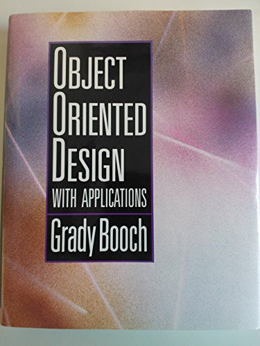 9780805300918: Object Oriented Analysis and Design with Applications (Benjamin/Cummings series in Ada and software engineering)