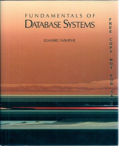 9780805301458: Fundamentals of Database Systems