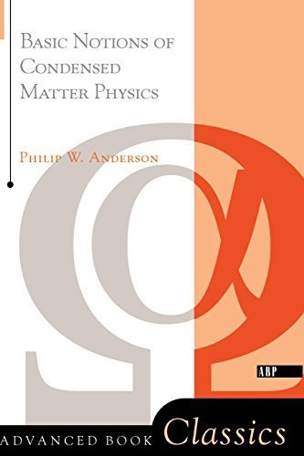 9780805302196: Basic Notions of Condensed Matter Physics (Frontiers in Physics)