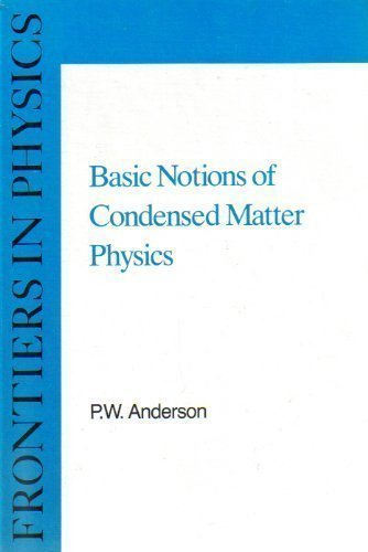 9780805302202: Basic Notions of Condense Matter Physics HB (Basic Notions of Condensed Matter Physics)