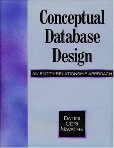 9780805302448: Conceptual Database Design: An Entity-Relationship Approach