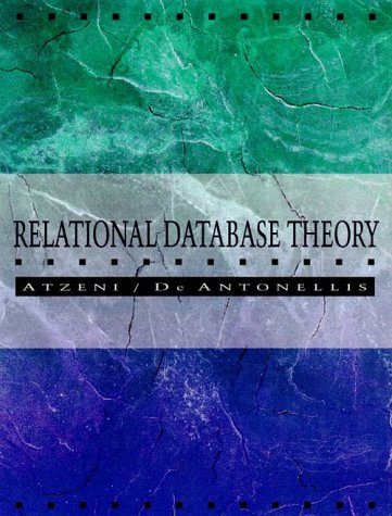 9780805302493: Relational Database Theory: A Comprehensive Introduction