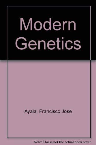 9780805303162: Modern Genetics (The Benjamin/Cummings series in the life sciences)