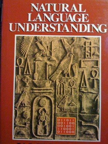 9780805303308: Natural Language Understanding