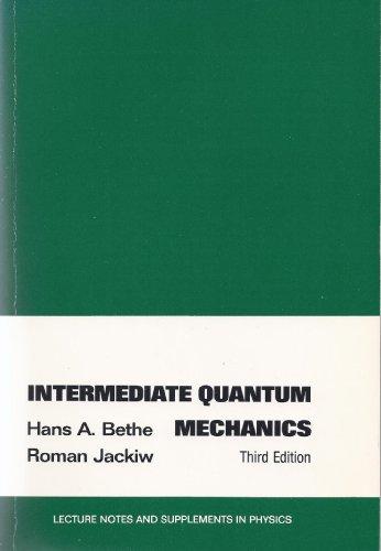 9780805307573: Intermediate Quantum Mechanics