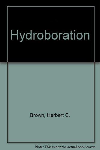 9780805315011: Hydroboration
