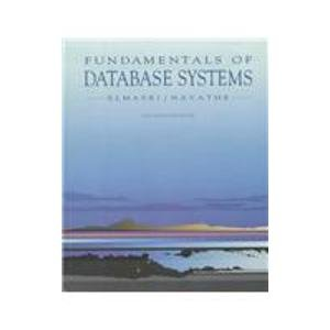 9780805317480: Fundamentals of Database Systems