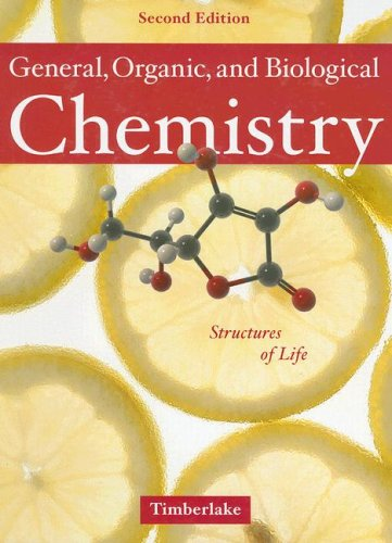 9780805321852: General, Organic, and Biological Chemistry: Structures of Life