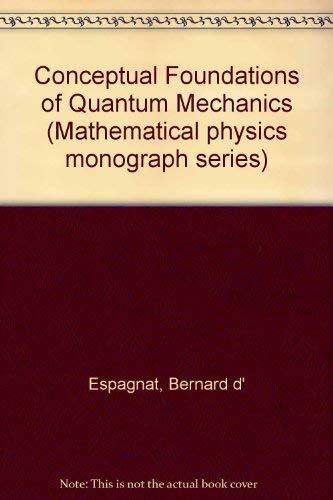 9780805323849: Conceptual Foundations of Quantum Mechanics