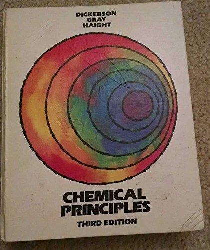 9780805323986: Chemical Principles