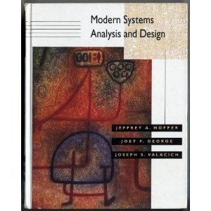 9780805324990: Modern Systems Analysis and Design