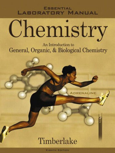 9780805330069: Essential Laboratory Manual to Accompany Chemistry: An Introduction to General, Organic, and Biological Chemistry