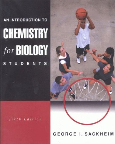 9780805330977: An Introduction to Chemistry for Biology Students