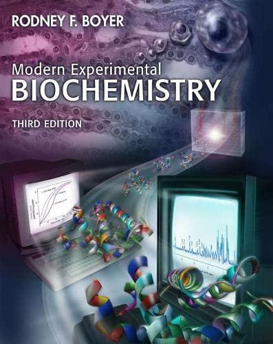 9780805331110: Modern Experimental Biochemistry (3rd Edition)