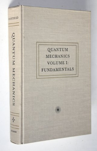 9780805333329: Quantum Mechanics: Fundamentals: 001