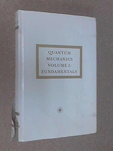 9780805333329: Quantum Mechanics: Fundamentals
