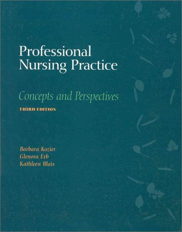 9780805335231: Professional Nursing Pratice: Concepts and Perspectives