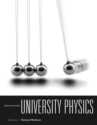 9780805338294: Essential University Physics Volume 1