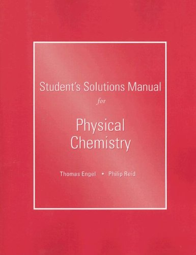 9780805338485: Student Solutions Manual for Physical Chemistry