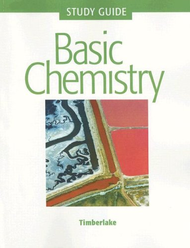 9780805339871: Basic Chemistry Study Guide with Selected Solutions