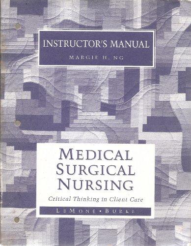 9780805340778: Instructors Manual to Medical Surgical Nursing
