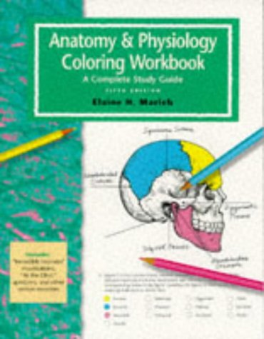 Anatomy Physiology Coloring Workbook by Elaine Marieb - AbeBooks