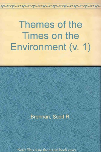 9780805344783: Themes of the Times on the Environment, Vol 1: v. 1