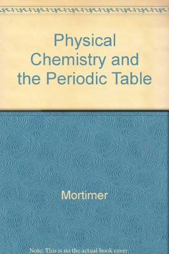 9780805345599: Physical Chemistry