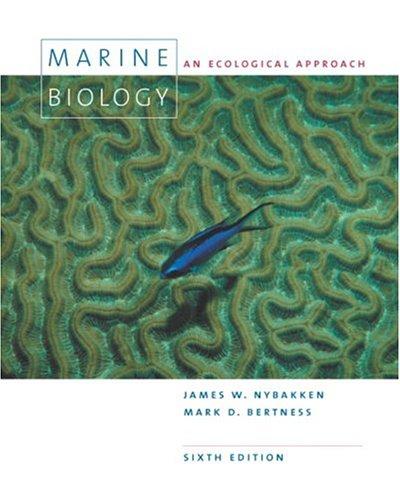 9780805345827: Marine Biology: An Ecological Approach