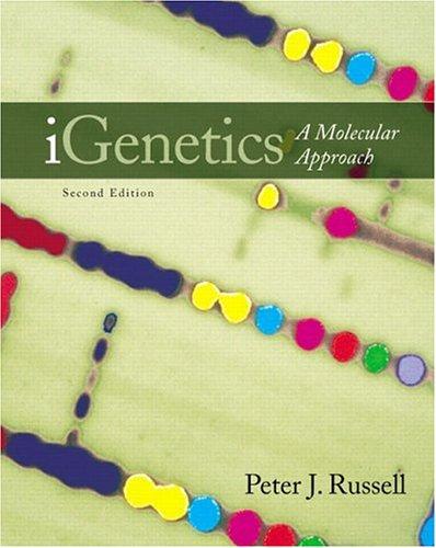 9780805346657: Igenetics: A Molecular Approach